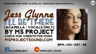 Jess Glynne I'll Be There (Acapella - Vocals Only) | Cover