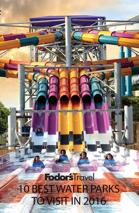With an exciting summer just around the corner, we're tallying up the country's most exciting and thrilling water parks for the 2016 season.