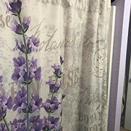 Amazon Com Lavender Shower Curtain By Ambesonne Vintage Postcard Composition With Grunge Display A Bathroom Decor Sets Lavender Shower Curtain Bathroom Decor
