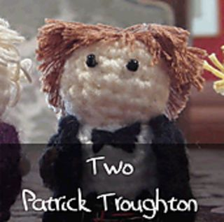 Dr Who - Second Doctor by Nyss Parkes (These mini Doctors do come in one single download, but they simply must be represented individually!) Free Pattern: http://www.ravelry.com/download/146980/free  #TheCrochetLounge #DrWho Collection