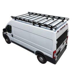 H2 Cargo Rack For Ram Promaster Cargo Van 2013 On 159 Wb Cargo Rack Cargo Van Extruded Aluminum