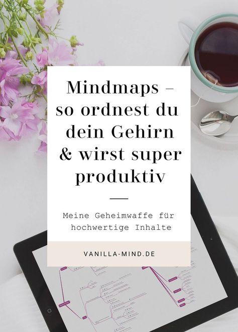 Mindmaps – die Wunderwaffe für mehr Klarheit im Kopf und bessere Inhalte   vanilla-mind.de