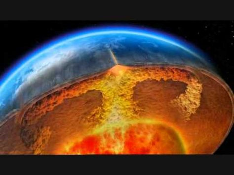 Shows what happens inside the earth that causes the plates to move and produce things like volcanos.