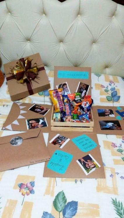 23 Trendy Birthday Box Boyfriend Diy Diy Gifts Diy Birthday Gifts Friend Birthday Gifts