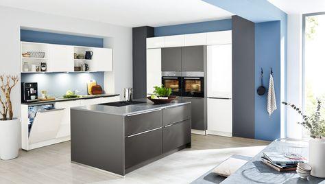 15 best moderne Küchen images on Pinterest Contemporary unit - paneele für küche