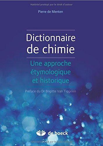 Telecharger Dictionnaire De Chimie Une Approche Etymologique Et Historique Livre Pdf Format Releasedate Livres En Ligne Chimie Telechargement Dictionnaire