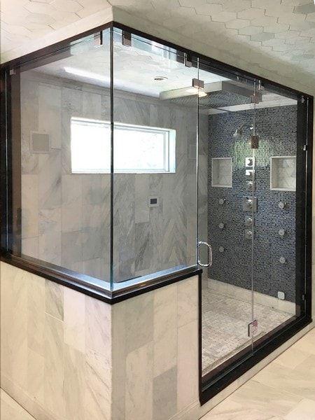 Steam Shower Creative Mirror Shower In 2020 Steam Showers