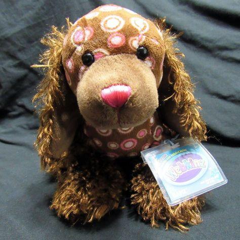 Ganz Webkinz Spotted Spaniel With Sealed Unused Secret Code Tag