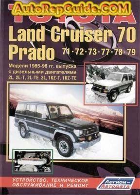 Download Free Toyota Land Cruiser 70 Prado 71 72 77 78 79 1985 1996 Repair Manual Image By Autorepguid Repair Manuals Land Cruiser Toyota Land Cruiser