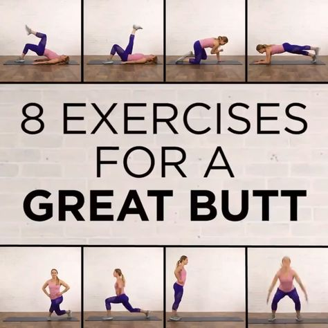 The Best 6 Exercises for a Firm, Toned, Lifted Butt