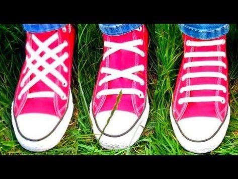 6d0b8010de76 TOP 3 Ways To Lace Shoes - Video Tutorial of 3 Best Shoe Lacing Kinds -  YouTube