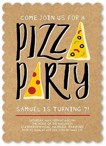 Pizza Party Invitation Template Best Of Flats Stationery And Pizza On Pinterest In 2020 Pizza Party Invitations Pizza Party Birthday Pizza Party Themes