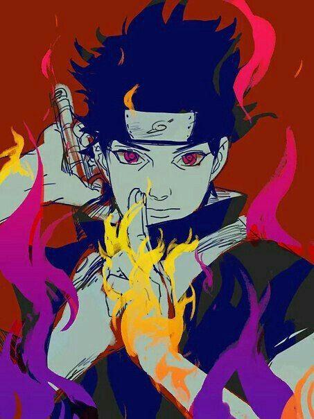 Shisui Uchiha Flames Shisui Anime Naruto Uchiha