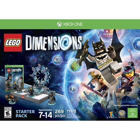 Warner Bros Lego Dimensions Starter Pack Xbox One Lego Dimensions Lego Gifts Lego