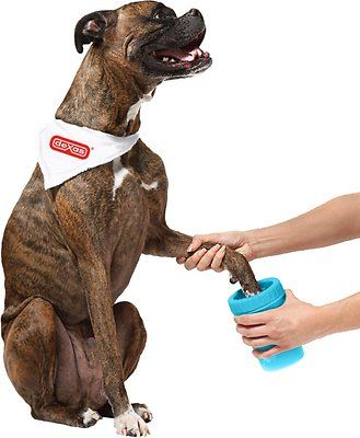 Dexas MudBuster Portable Dog Paw Cleaner