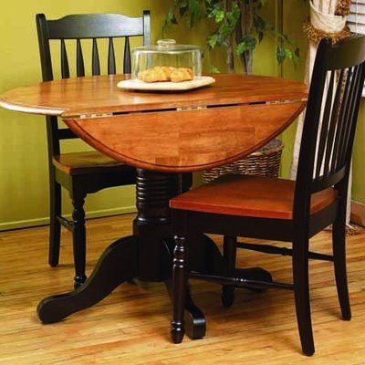 Silver Dining Table And Chairs, Shelburne 5 Piece Drop Leaf Dining Set Dining Table In Kitchen