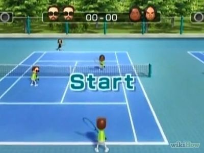 How To Turn The Tennis Courts Blue In Wii Sports In 2020 Wii Sports Tennis Tennis Court