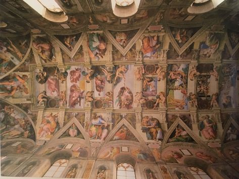 The Sistine Chapel Ceiling Michelangelo Buonarroti 1508