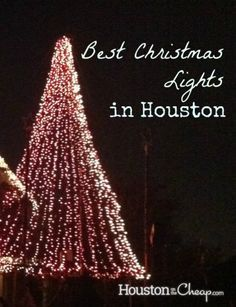 Christmas Lights at River Oaks, Houston, TX | Nice to look at*NEON ...
