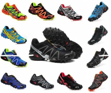 Chic Salomon Gin 3 Mens Shoes Sports Shoes Sneakers Running