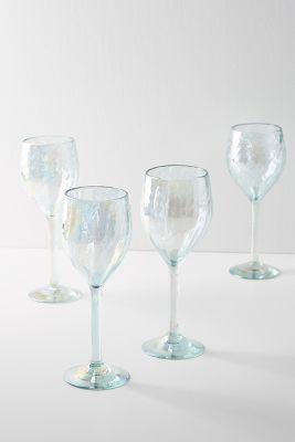 Narita Wine Glasses Set Of 4 Wine Glasses Unique Glassware