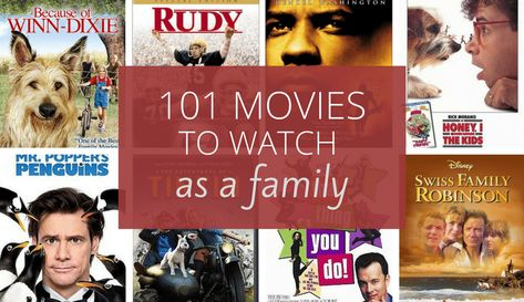 101 Family Movies You & Your Kids Will Love