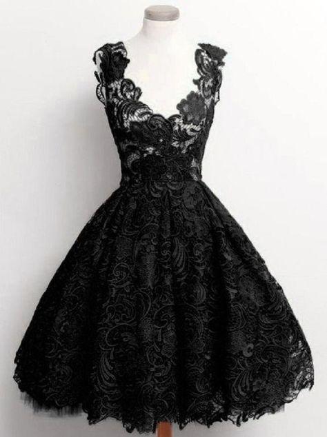 Damen Gothic Steampunk Spitzenkleid Festlich Kleid Ballkleid Schwarz XS S M L in Kleidung & Accessoires, Damenmode, Kleider | eBay