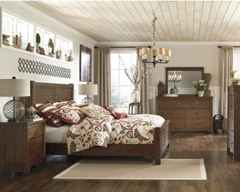 The Relaxing Rustic Design Of The Chimerin Bedroom Collection By