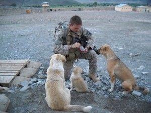 soldierdogs - Help deployed soldiers rescue abandoned dogs. Donations provide food, and even crates to transport the rescued dogs. $5-$100 Your choice. You can even do an ongoing donation if you want.