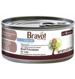 Bravo Bravo Canned Cat Case Beef Fricassee 5 5 Oz Food Animals Canned Food Canned Cat Food