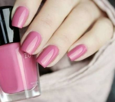 50 Trendy Nails 2018 Pink Spring Nail Color Trends Simple Gel