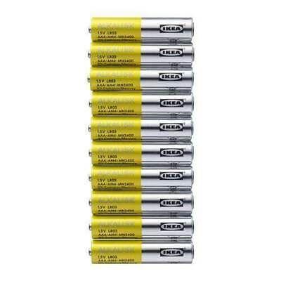 Ad Ebay Link Ikea Alkaline Battery Lr03 Aaa 1 5v Batteries 10 Pk New Free Shipping Alkaline Battery Ebay Alkaline