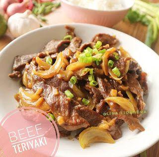 Resep Beef Teriyaki Ala Rumahan By Lina Tjoandra Dengan Gambar Resep Resep Daging Sapi Resep Masakan Indonesia