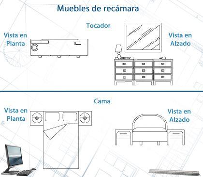 Muebles De Recamara Arquitectonico Arquitectura Dibujo Arquitectonico