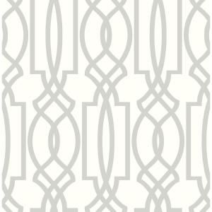 Nextwall Deco Lattice Vinyl Peelable Wallpaper Covers 30 75 Sq Ft Nw31508 The Home Depot Peel And Stick Wallpaper Peelable Wallpaper Faux Brick