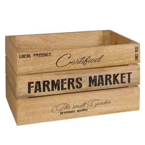 Caja De Mango Estampado Farmer Market Maisons Du Monde Cagette Maison Du Monde Manguier