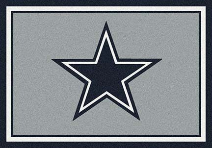 Amazon Com Dallas Cowboys 5 4 X 7 8 Team Spirit Area