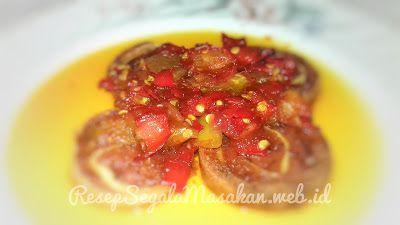 Resep Balado Rolade Daging Sapi Resep Segala Masakan Web Id Daging Sapi Sayuran Resep Daging Sapi