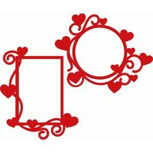 Siluetă magazin de design - Vezi de proiectare # 72835: inima să înflorească cadre