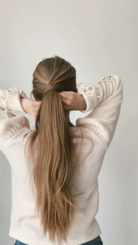 Simple ponytail hack
