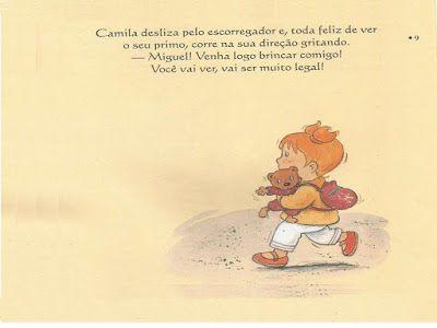 Camila E A Volta As Aulas 9 Educacao Infantil Aulas Livros De