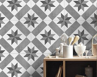 Tile Decals Wallpapers And Wall Decals By Homeartstickers On Etsy