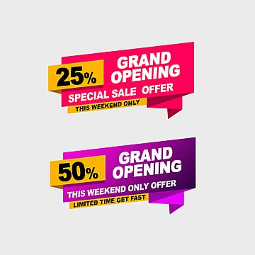Grand Opening Offer Tags Discount Super Sale Big Sale Png Transparent Clipart Image And Psd File For Free Download Grand Opening Super Sale Creative Poster Design