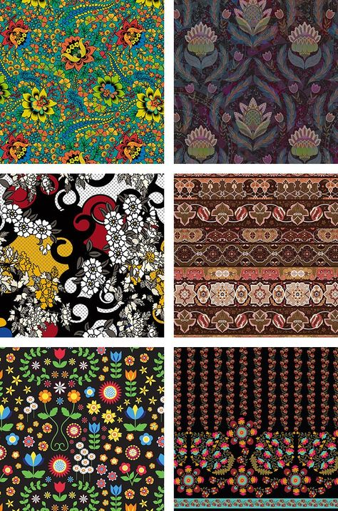 A/W 2016/17 – DECORATIVE BORDERS / BLACK BACKGROUNDS / SCROLLS AND SWIRLS  A selection of Royalty Free Stock designs from ourFolk Scenetrend story