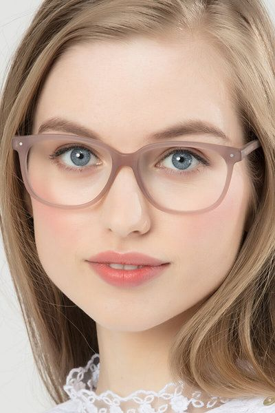 874d346b9df9 Escape Matte Pink Acetate Eyeglasses from EyeBuyDirect. Exceptional style,  quality, and price with these glasses. This frame is a great addition to  any ...