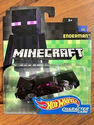 Minecraft Enderman #2//7 Sammler Hot Wheels Charakter Autos Neu