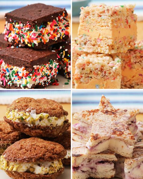 Upgrade your favorite ice cream by creating these incredible ice cream sandwiches. Once you've tried them all go to www.Kroger.com/icecreamvote to vote for your favorite Kroger Brand ice cream to stay in stores and receive a $.50 off coupon!