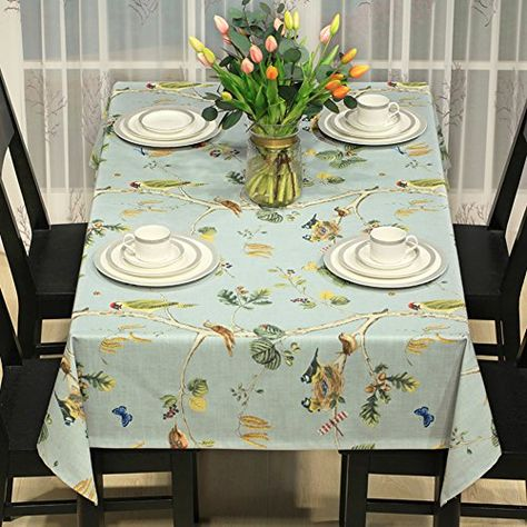 Linen Printing Table Cloth Modern Simple Cloth Restaurant Cover
