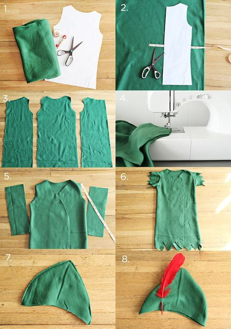 Peter Pan and The Lost Boys Costume DIY - A Beautiful Mess Ahh! I