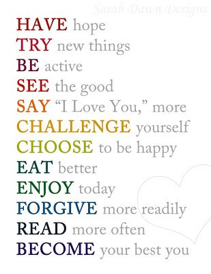 Great Resolutions